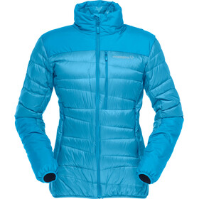 Norrøna Falketind Down Hood Jacket Damen blue moon